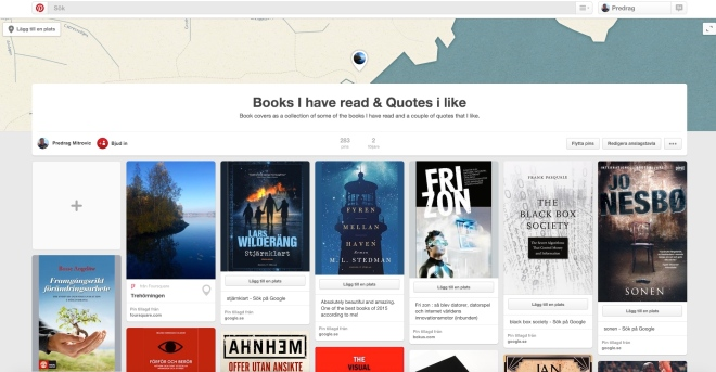 Pinterest books I have read